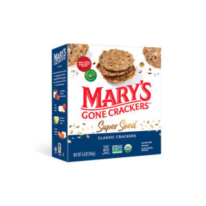 Mary's Gone Crackers Super Seed Classic 5.5oz - 6 Pack