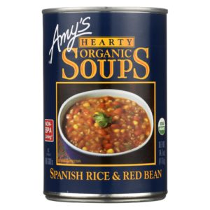Amy's Organic Spanish Rice & Red Bean Soup The GreenLine Market