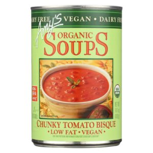 Amy's Organic Chunky Tomato Soup Bisque The GreenLine Market