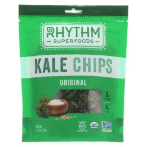 Rhythm Superfoods Organic Kale Chips Original - 2 oz - Case Of 12 - The GreenLine Market