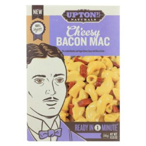 Upton's Naturals Vegan Mac & Cheesy Bacon - 10.05oz - Case Of 6
