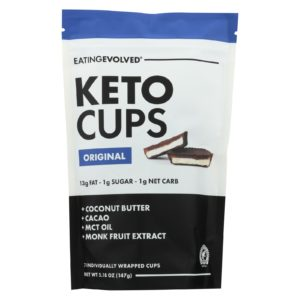 Eating Evolved Keto Cups - Original Keto Pouch 5.25 oz - Case Of 6 - The GreenLine Market