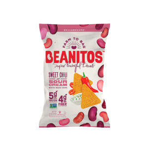Beanitos White Bean Chips Sweet Chili Sour Cream 4.5oz - 6 Pack