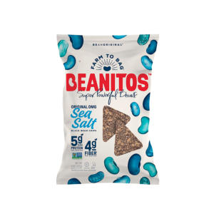 Beanitos Black Bean Chips Sea Salt 5oz - 6 Pack