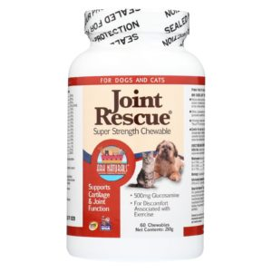 Ark Naturals Dog Cat Joint Supplement Treats - 60 Chewables
