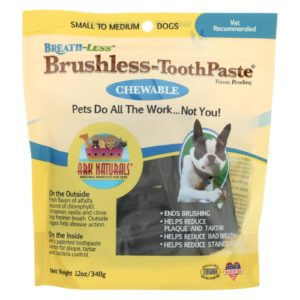 Ark Naturals Dog Treats Breath & Tooth Dental Care Sticks - 12 Oz