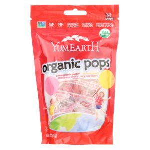 YumEarth Organic Lollipops Assorted 3 oz - Case Of 6