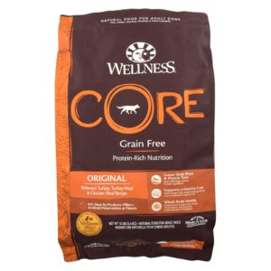 Wellness Dog Food - Core Dry Turkey Formula Original - 12 Lb