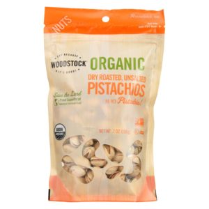 Woodstock Organic Pistachios Roasted Unsalted The GreenLine Market