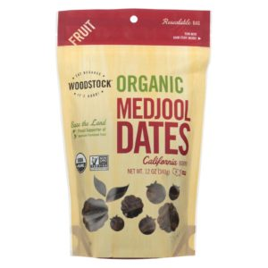 Woodstock Organic Medjool Dates - 12 oz - Case Of 8