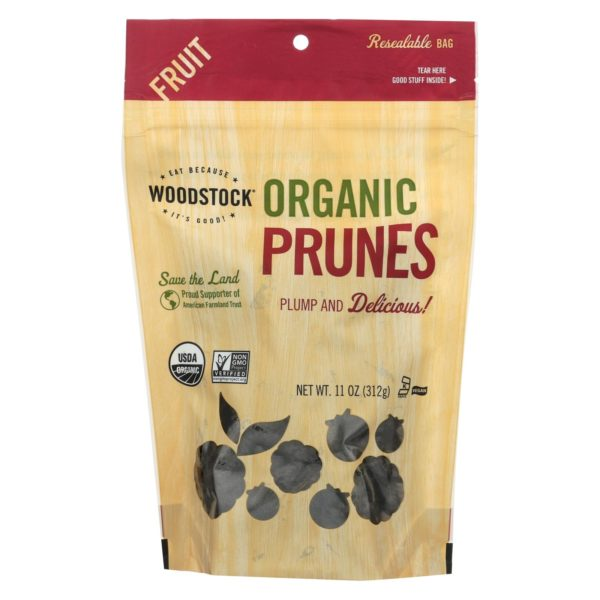 Woodstock Organic Dried Prunes - Pitted The GreenLine Market