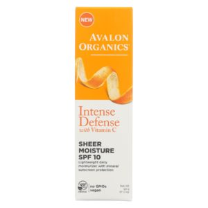 Avalon Sun Defense Sheer Face Moisture Spf 10 The GreenLine Market