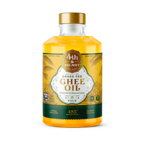 Fourth and Heart Ghee Oil Pourable 16oz - 6 Pack - The GreenLine Market