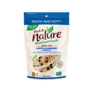 Back To Nature Granola Apple Blueberry 12.5oz - 6 Pack - The GreenLine Market