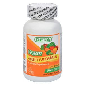 Deva Vegan Multivitamin & Minerals 90 Ct