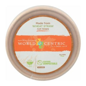 World Centric Wheat Straw Bowl - Case Of 12 - 20 Count