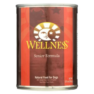 Wellness Dog Food Senior Recipe 12.5oz - Case Of 12