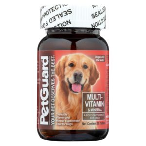 Petguard Multivitamin Mineral Dogs Supp The GreenLine Market
