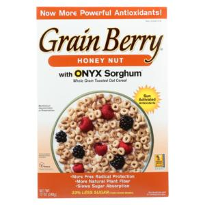 Grain Berry Antioxidants Honey Nut Cereal 12oz - 6 Pack - The GreenLine Market