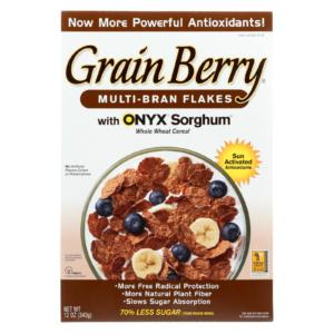Grain Berry Antioxidants Multi-Bran Flakes Cereal 12oz - 6 Pack