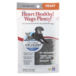 Ark Naturals Dog Treats Heart Healthy - 60 Count
