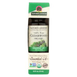 Nature's Answer Organic Essential Oil - Cedarwood The GreenLine Market