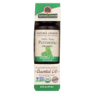 Nature's Answer Organic Essential Oil - Patchouli The GreenLine Market