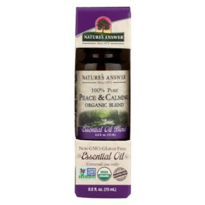 Nature's Answer Organic Essential Oil Peace Calming The GreenLine Market