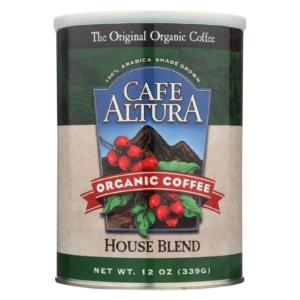 Cafe Altura Organic Ground Coffee House Blend The GreenLine Market