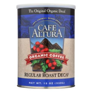 Cafe Altura Organic Medium Roast Ground Coffee Decaf The GreenLine Market