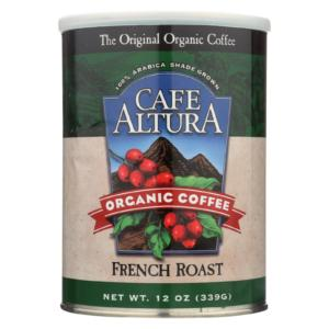 Cafe Altura Organic Ground Coffee French Roast The GreenLine Market