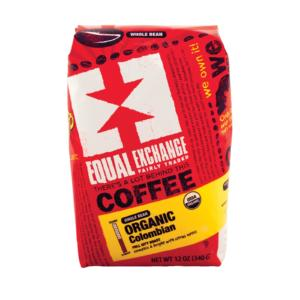 Equal Exchange Organic Whole Bean Coffee Columbian The GreenLine Market