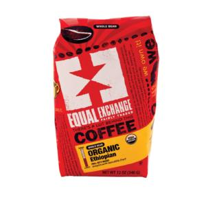 Equal Exchange Organic Whole Bean Coffee Ethiopian The GreenLine Market