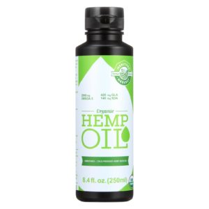 Manitoba Harvest Organic Hemp Oil Liquid 8.4oz - The GreenLine Market
