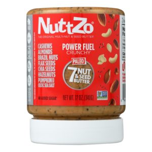 Nuttzo Crunchy Power Fuel - Case Of 6 - 12 Oz - The GreenLine Market