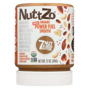 Nuttzo Seven Nut & Seed Butter Power Fuel Smooth - Case Of 6 - 12 Oz - The GreenLine Market
