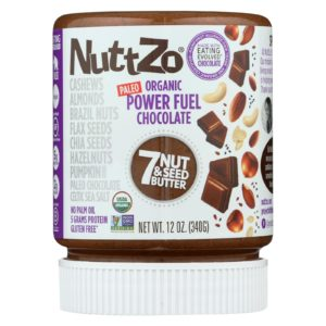 Nuttzo Seven Nut & Seed Butter Power Fuel Chocolate - Case Of 6 - 12 Oz - The GreenLine Market