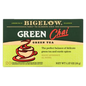 Bigelow Tea - Green Chai 20 Bags - 6 Boxes - The GreenLine Market