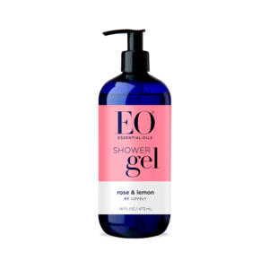 EO Shower Gel Rose & Lemon 16oz - The GreenLine Market