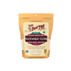 Bob's Red Mill Organic Buckwheat Flour 22oz - 4 Pack - The GreenLine Market
