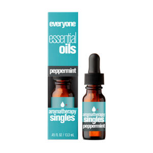 EO Everyone Essential Oil Aromatherapy Singles Peppermint 0.45oz - The GreenLine Market