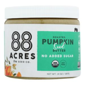 88 Acres Seed Butter Roasted Pumpkin Sugar Free 14oz - 6 Pack - The GreenLine Market