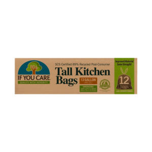 If You Care Tall Kitchen Recycled Trash Bags 12 Ct - 12 Pack - The GreenLine Market